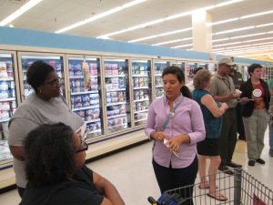 "Food Lion ""grocery store tour"""